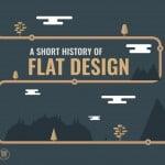 a short history of flat design