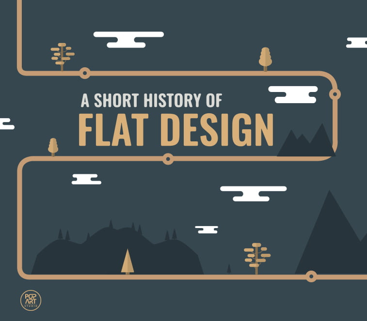A short history of flat design