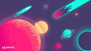 Vektorske pozadine za desktop – februar 2016.