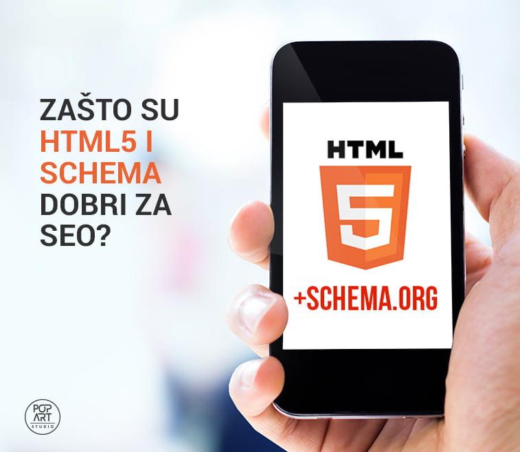 Zašto su HTML5 i Schema dobri za SEO?