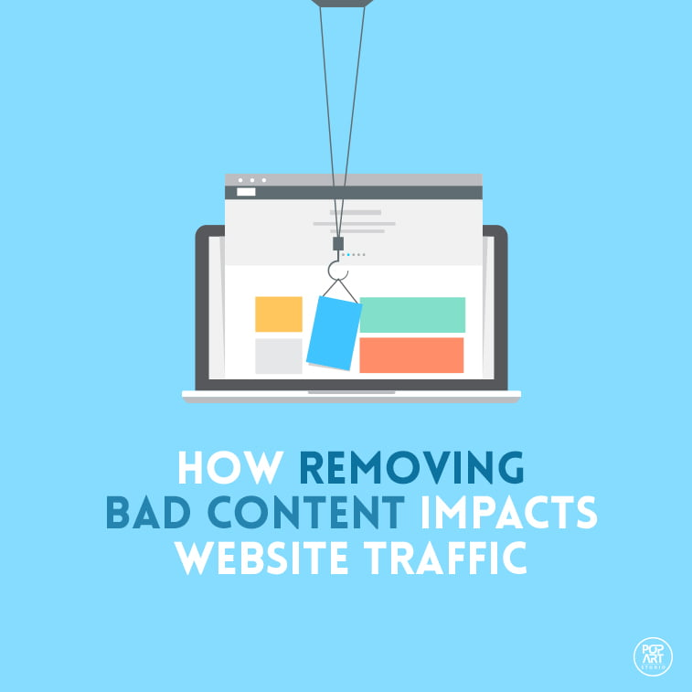 How Removing Bad Content Impacts Website Traffic