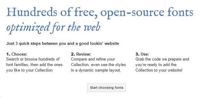 A Beginner's Guide to Google Fonts