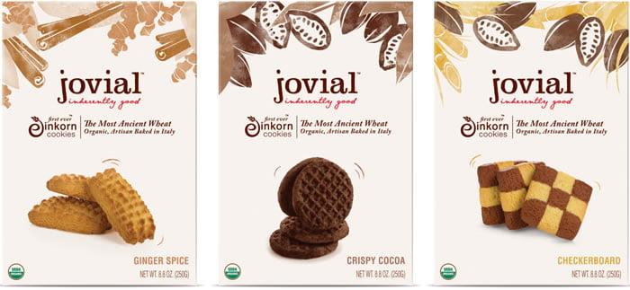 dizajn ambalaže za organske kolačiće jovial