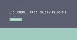 6 Useful Free jQuery Plugins for Your Website