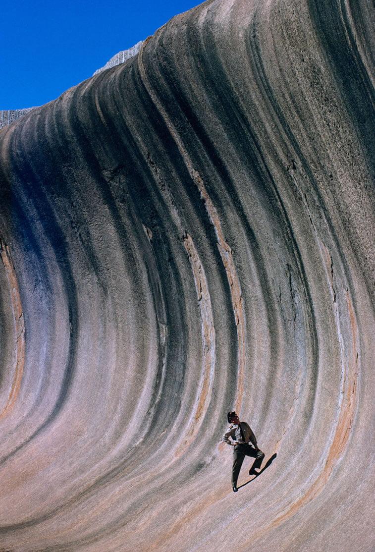 kamen oblikovan vetrom, Zapadna Australija 1963.