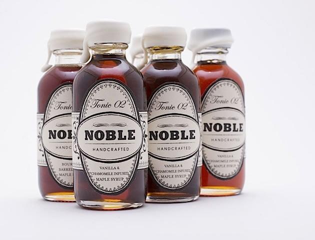 "dizajn organske ambalaže za sirup ""Noble"""