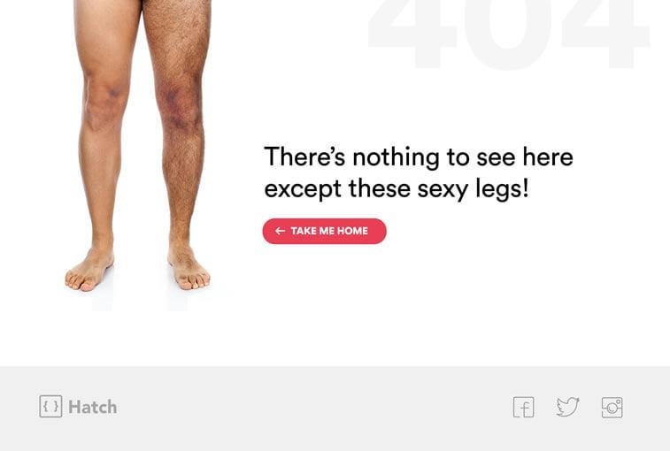 404 strana nije pronađena na sajtu hatch