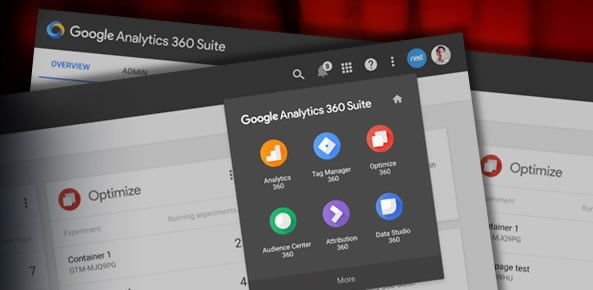 google analytics 360 suite