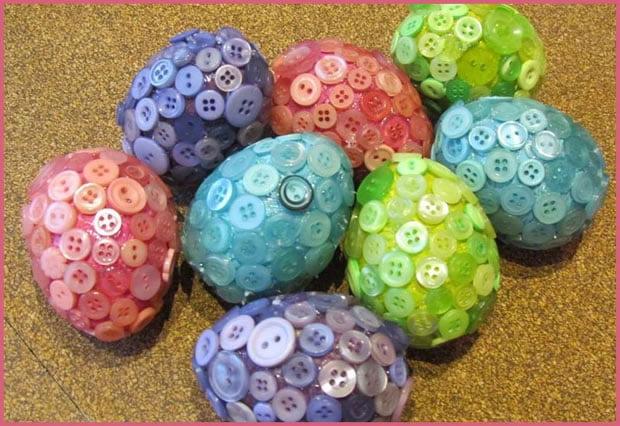 Ideje za ukrašavanje uskršnjih jaja (17) ukrašavanje bez farbe