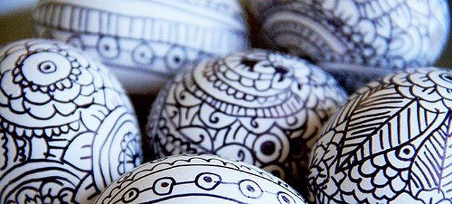 Ideje za ukrašavanje uskršnjih jaja (6)