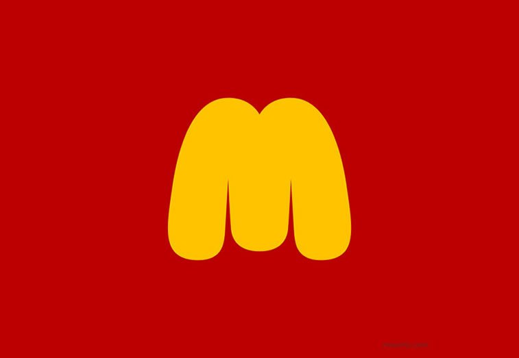 Logo design Universal Unbranding Project by Maentis (17) McDonalds makes you fat