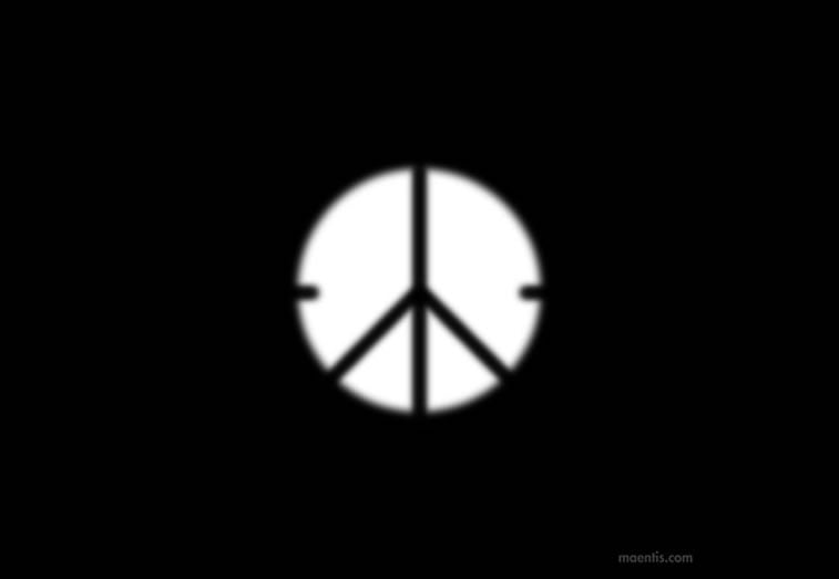 Logo design Universal Unbranding Project by Maentis (5) Killing for Peace