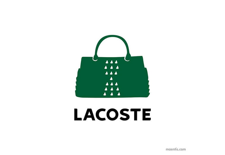 Logo design Universal Unbranding Project by Maentis (6) Lacoste Gator Skin