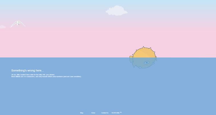 greška 404 primer na sajtu bit.ly