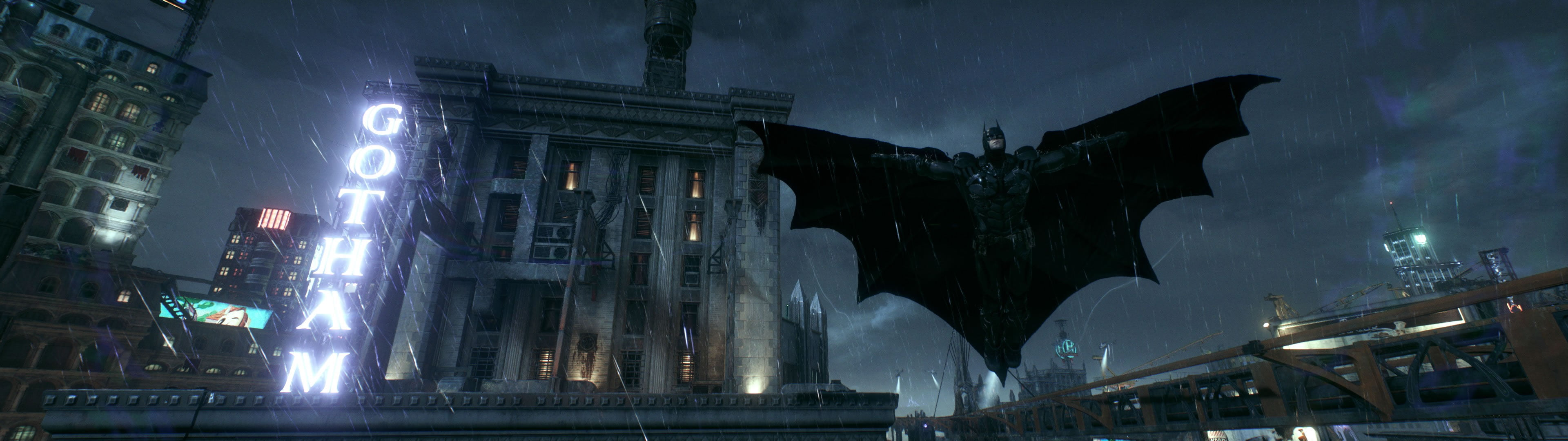 besplatne pozadine za dva monitora batman arkham knight