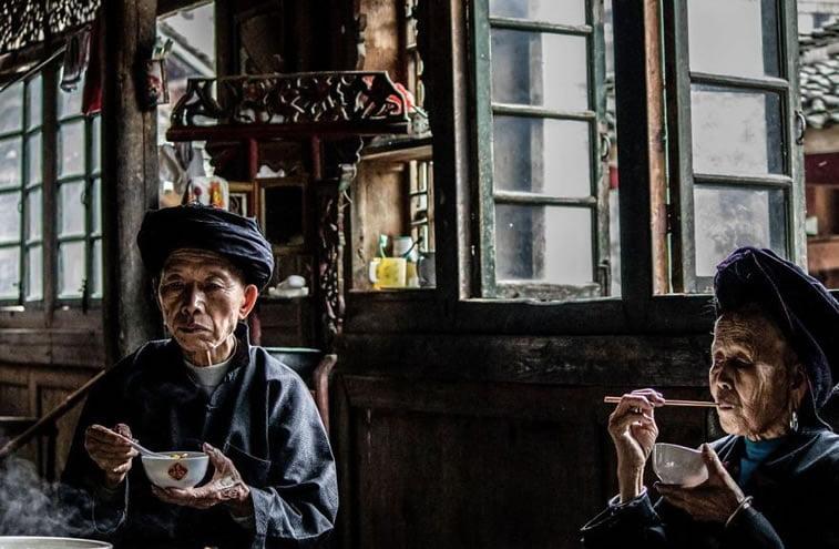 Bezvremeni ručak, Kina