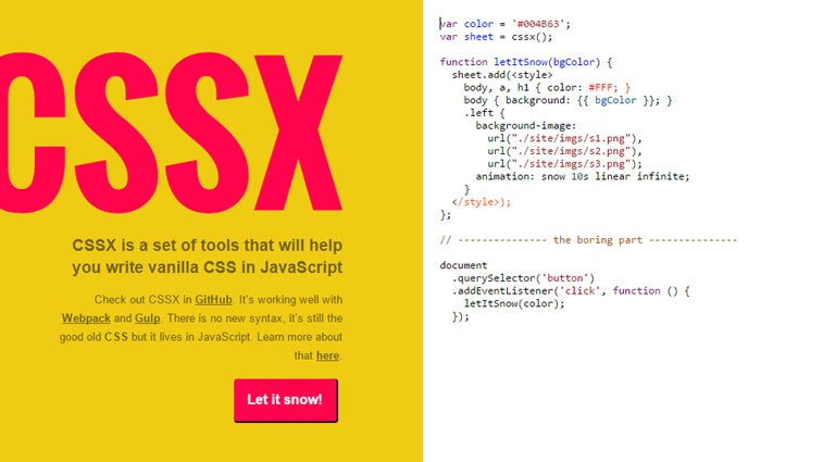 useful web developer tools CSSx