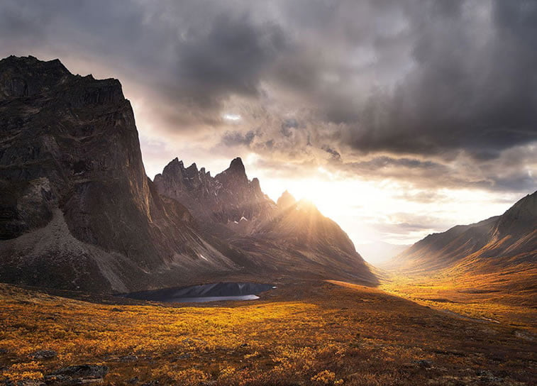 Impresija spomenika, Jukon (Kanada)