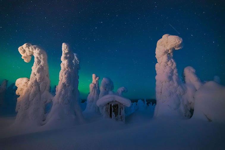 Mistični led, Finska