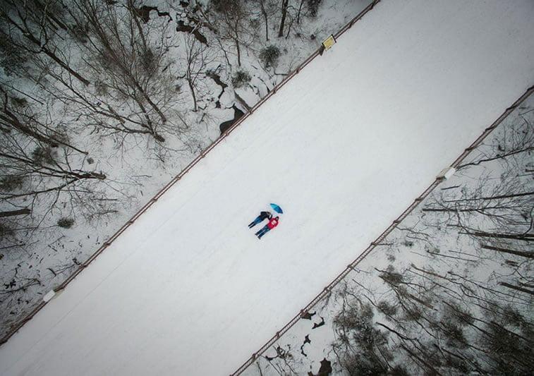 Slikanje dronom, Nju Hempšir (SAD)s