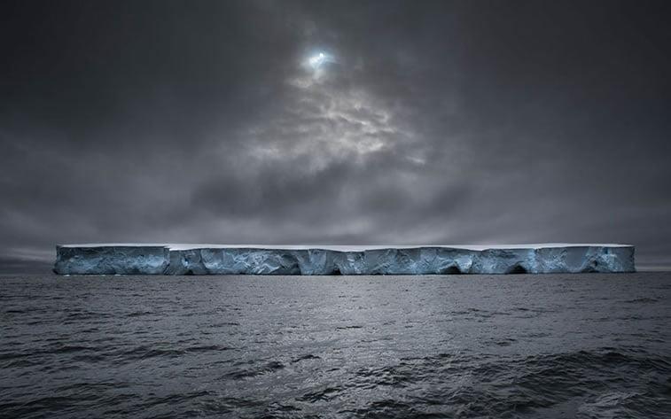 Svemirski brod, Antarktik