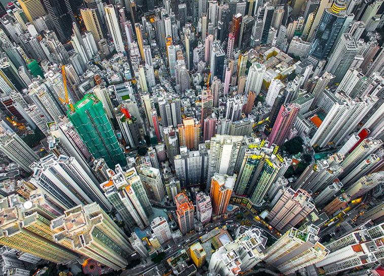 Urbana džungla, Hong Kong (Kina)