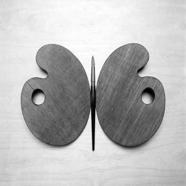 black 'n white mind bending optical illusions by Chema Madoz (14)