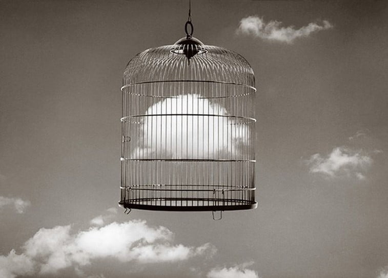 black 'n white mind bending optical illusions by Chema Madoz (7)