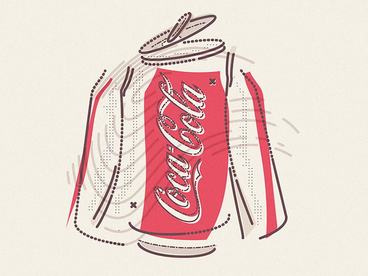 cocacola exploded