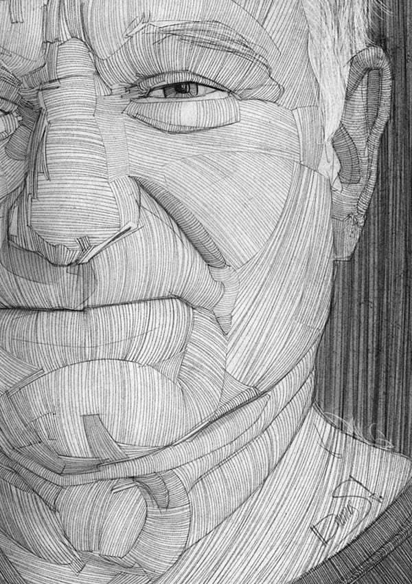 stavros damos illustration robin williams detail
