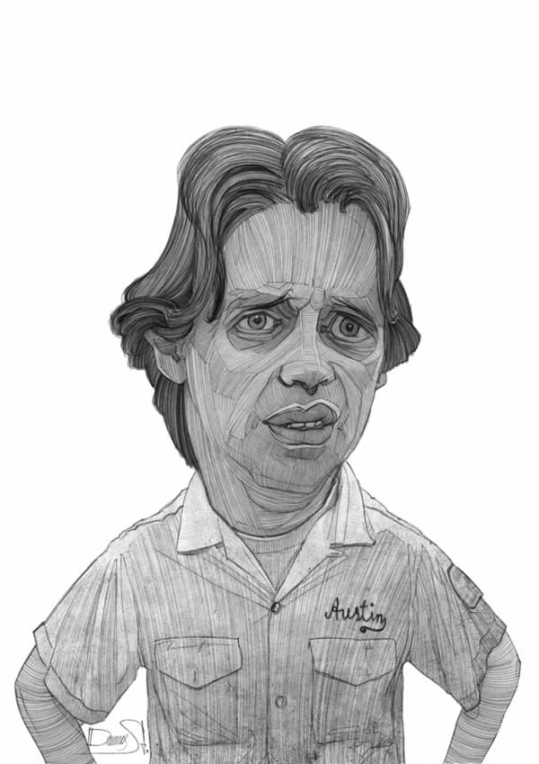 stavros damos illustration the big lebowski steve buscemi