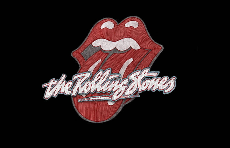 stavros damos illustration the fabulous rolling stones poster