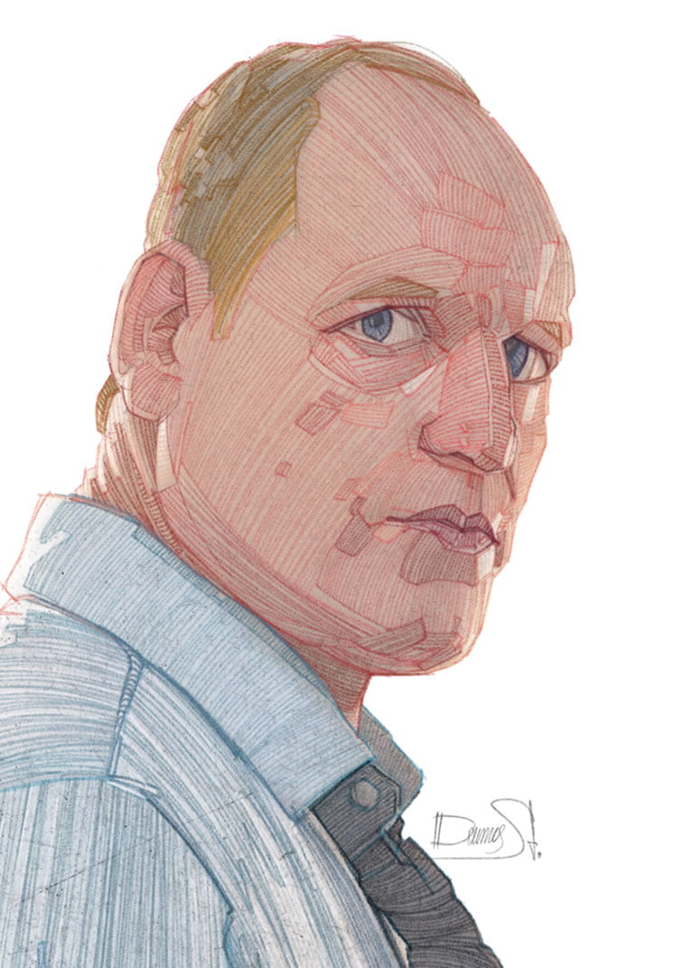 stavros damos illustration true detective 2