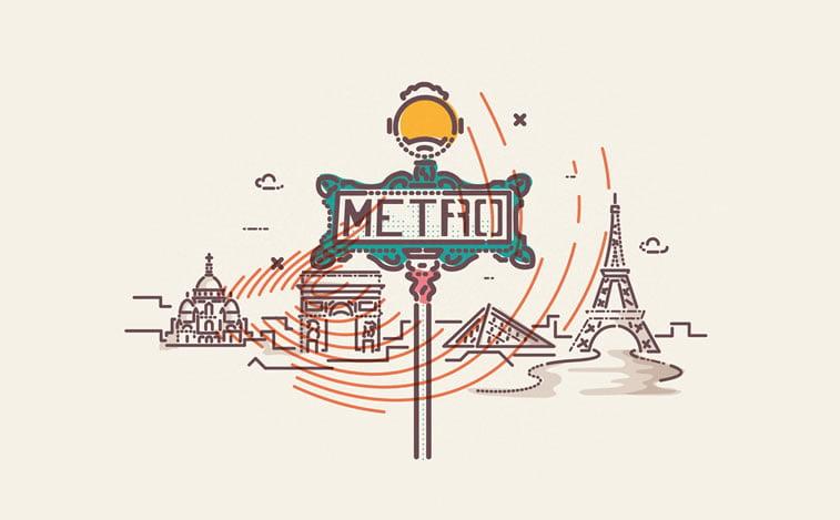travel metro paris