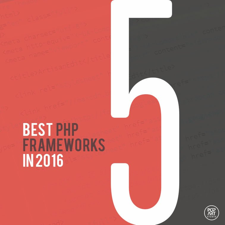 5 best PHP frameworks in 2016