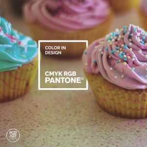 Color in design: CMYK, RGB, Pantone