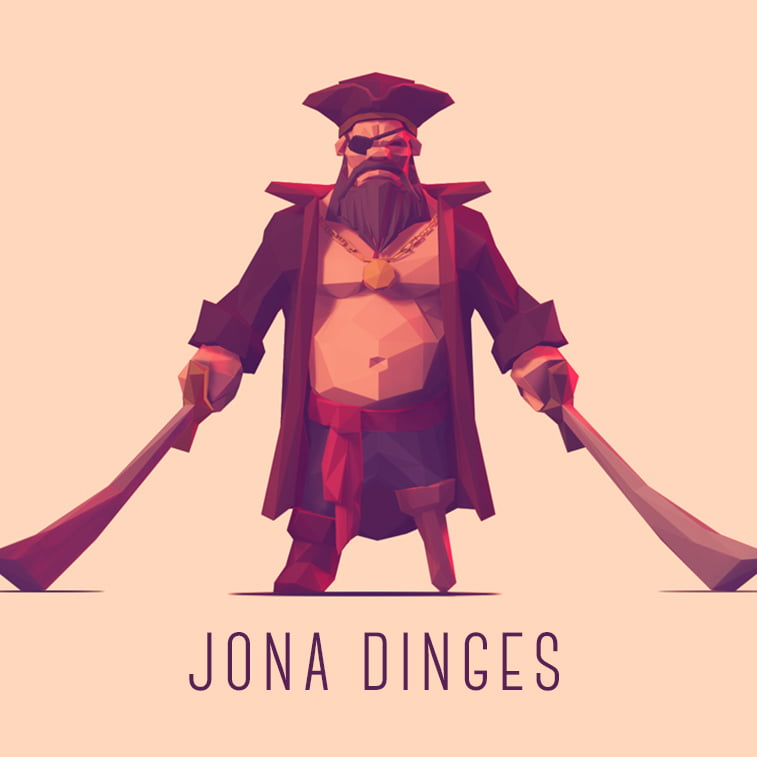 Low poly graphics by Jona Dinges