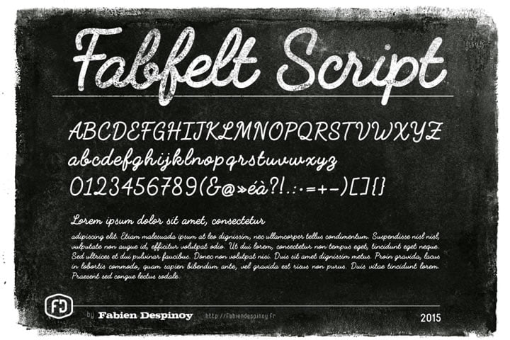 fabfelt pisani font