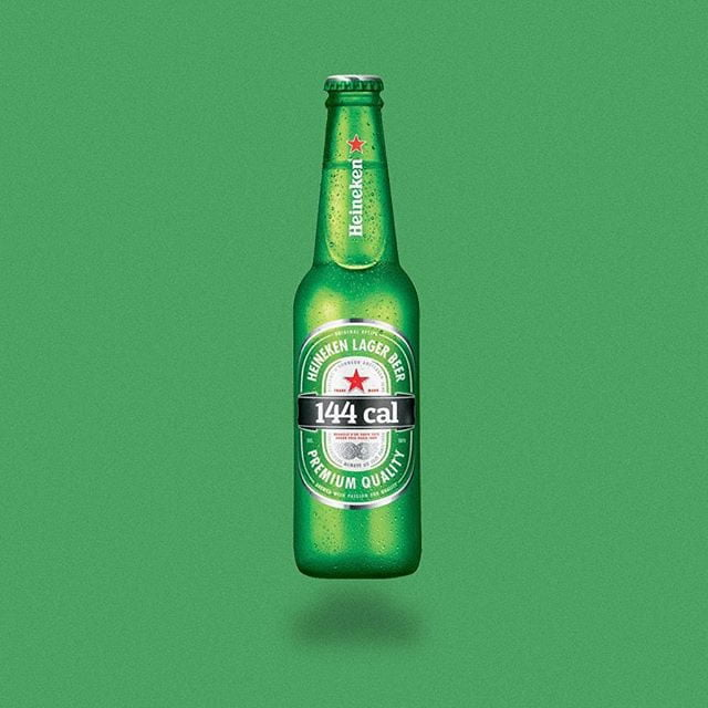 heineken by calorie brands
