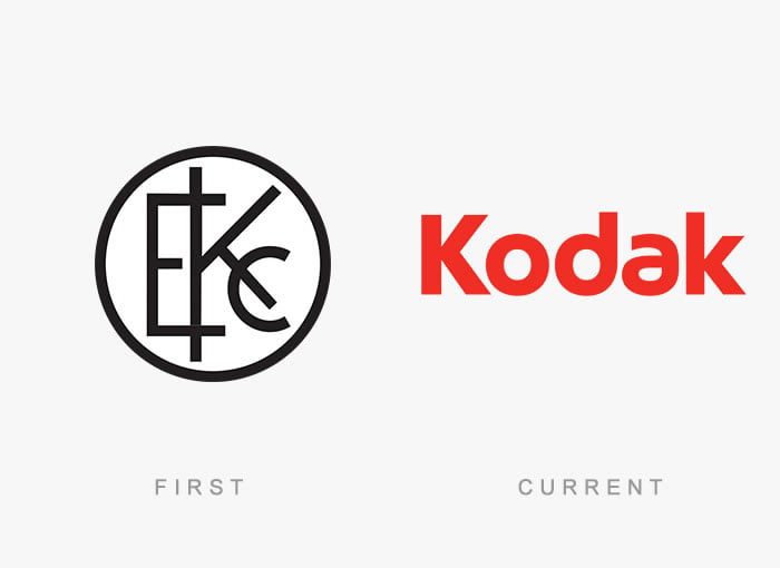 Logo design evolution: famous brands then and now