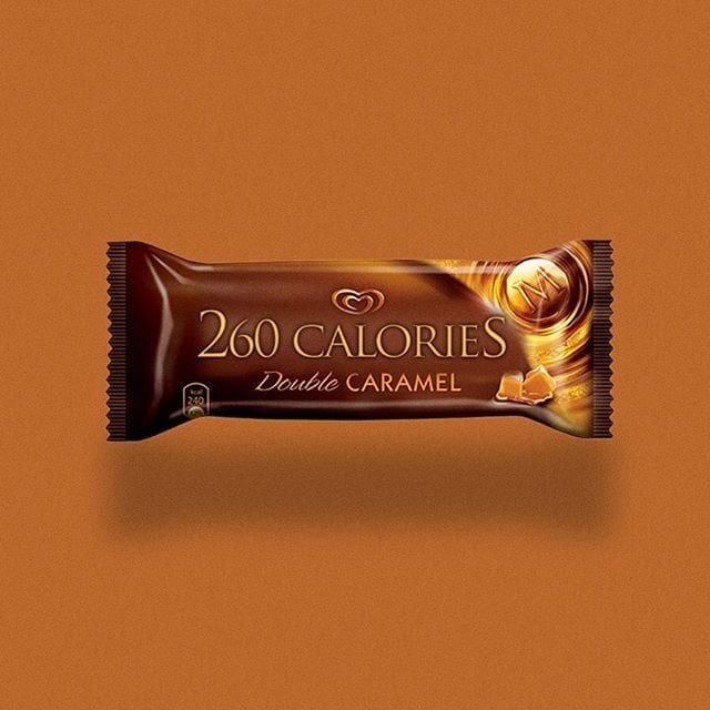magnum ice cream by calorie brands