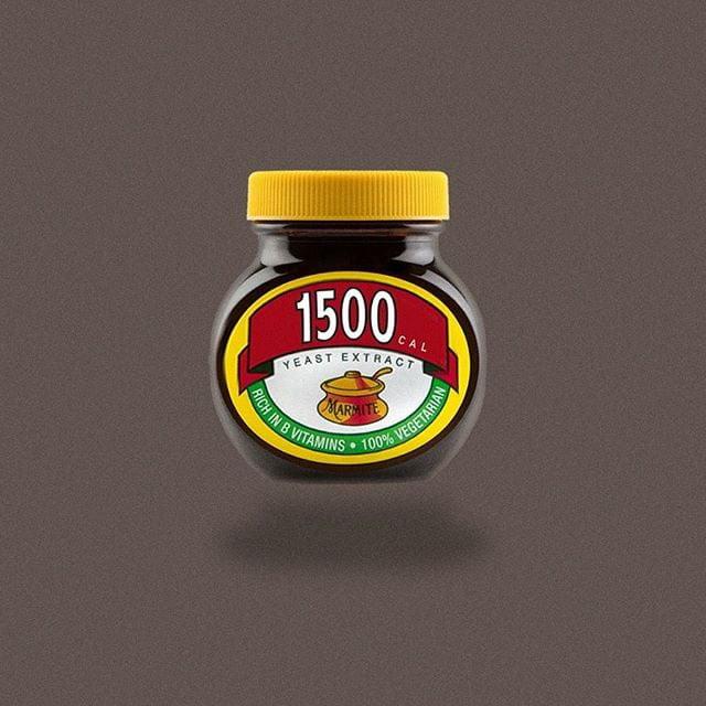 marmite by calorie brands