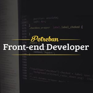 Potreban frontend developer