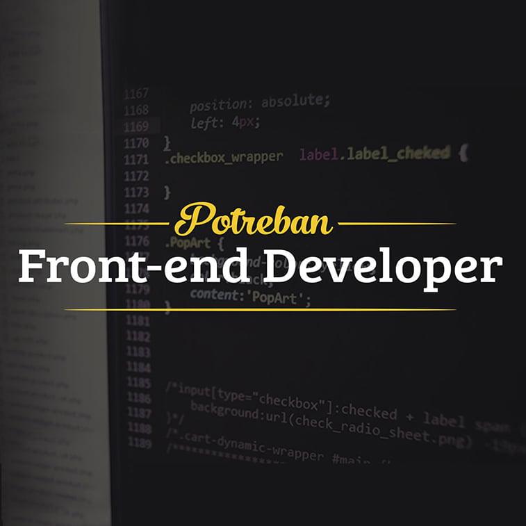 oglas za posao frontend developer novi sad