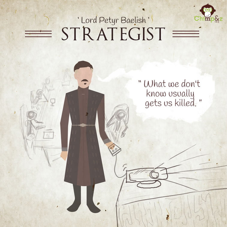 Strategist: Petyr Baelish