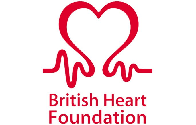 British Heart Foundation logo hidden message