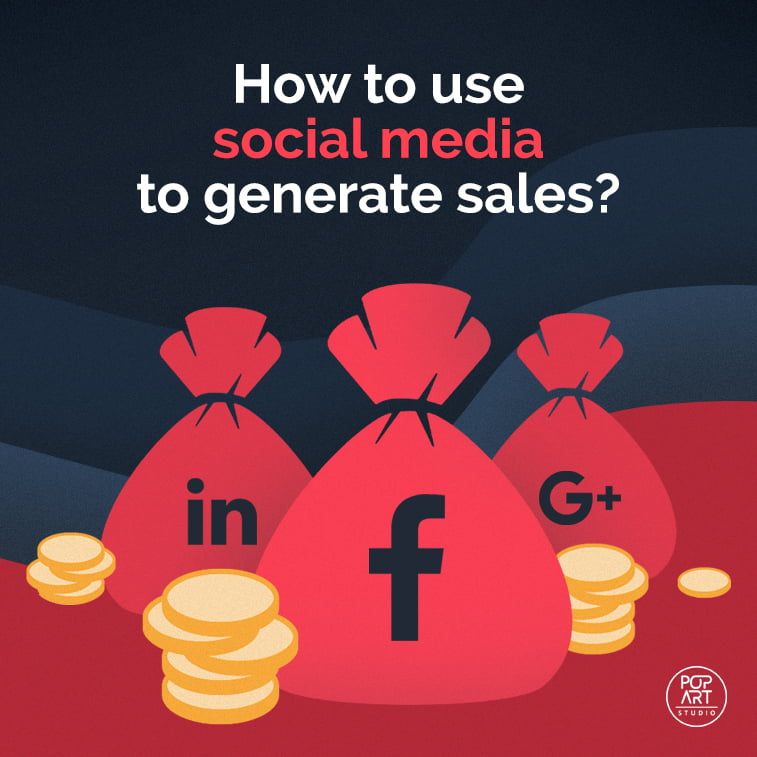 How to use social media to generate sales