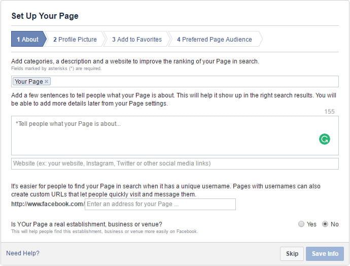 Kako napraviti poslovnu stranicu na fejzbuku