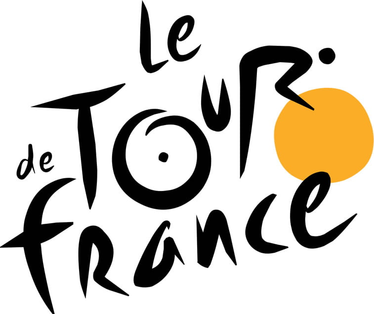 Tour de France logo hidden message