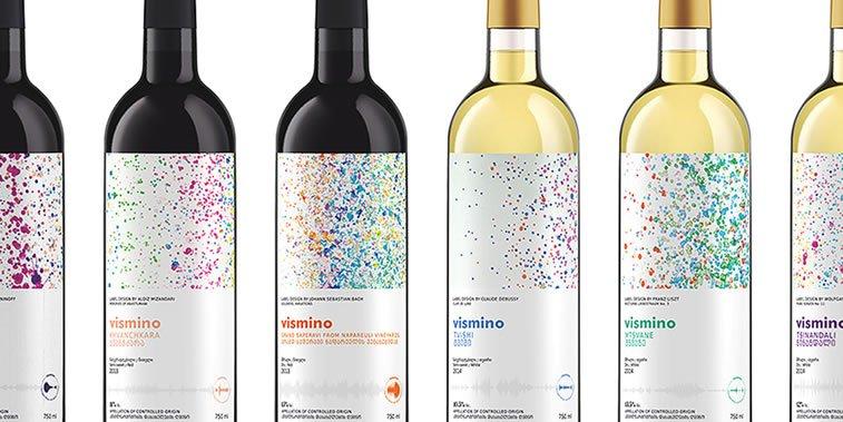 dizajn etikete za vino vismino